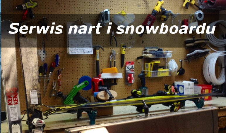 Serwis nart i snowboardu