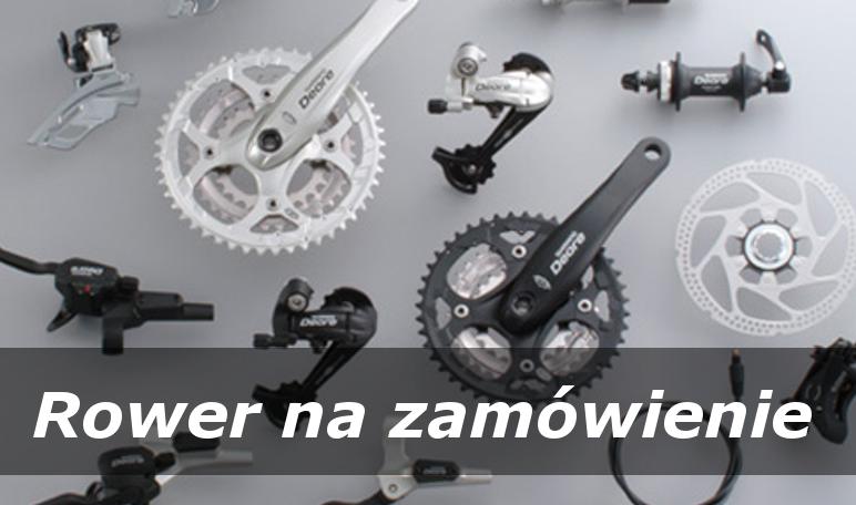 Złożymy dla Ciebie rower z dowolnych wybranych części